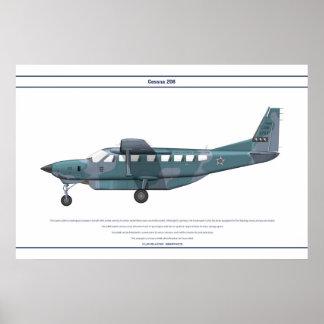 Cessna 208 Brazil Poster