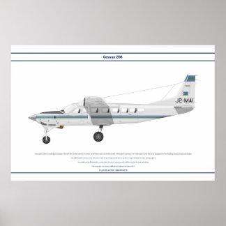 Cessna 208 Djibouti Poster