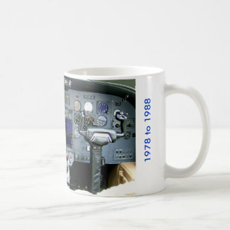 Cessna Citation II Instrument Panel Coffee Mug