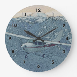 Cessna - Mt. Rainier Clock