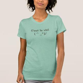C'est la vie - Crew Neck ladies T-shirt