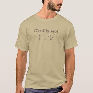 C'est la vie t-shirt - Add images and text!
