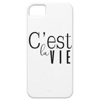 cestlavie C'est la Vie iPhone 5 Case
