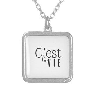 cestlavie C'est la Vie Silver Plated Necklace