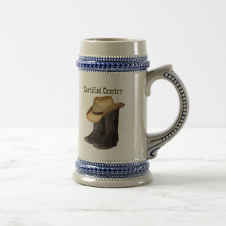 Cetified Country Stein
