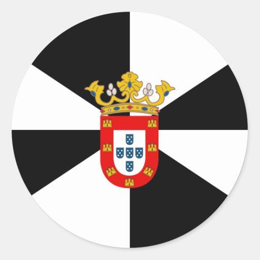 Ceuta High quality Flag Sticker