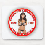CEXC Combined Explosives Exploitation Cell CIED Mouse Pad