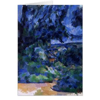 Cezanne - Blue Landscape Card