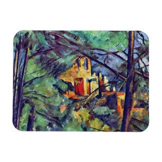 Cezanne - Chateau Noir Rectangular Photo Magnet
