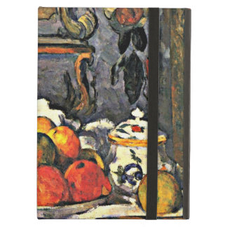 Cezanne - Dish of Apples-1879 iPad Air Case