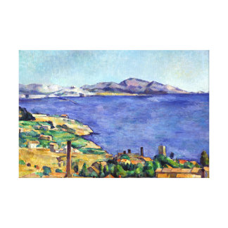 Cezanne Gulf of Marseilles Seen from L'Estaque Canvas Print