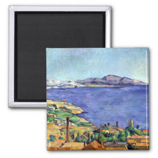 Cezanne Gulf of Marseilles Seen from L'Estaque Magnet