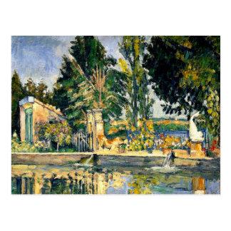 Cezanne - Jas de Bouffan, 1876 Postcard