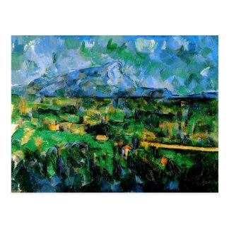 Cezanne - Mont Sainte-Victoire, from les Lauvres Postcard