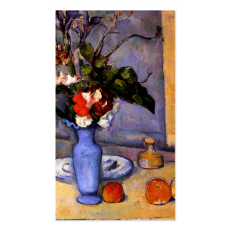 Cezanne painting Still Life With Blue Vase art Pack Of Standard Business Cards