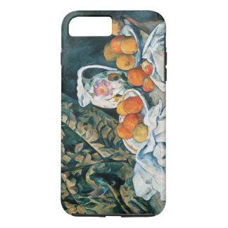 Cezanne Still Life Curtain,Flowered Pitcher,Fruit iPhone 7 Plus Case