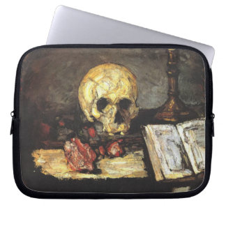 Cezanne - Still life with Skull Laptop Sleeve