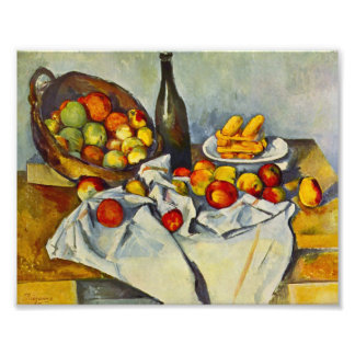 Cezanne The Basket of Apples Print Photograph