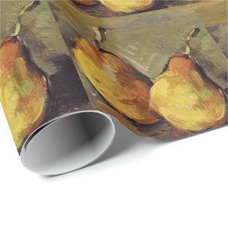 Cezanne - Two Pears Wrapping Paper