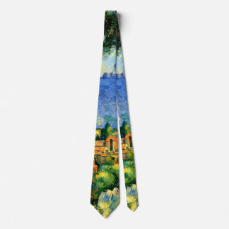 Cezanne - View of l'Estaque Tie