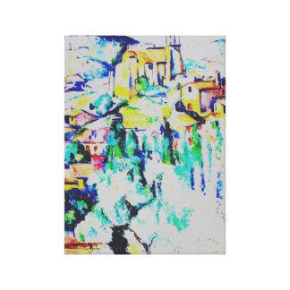 Cezanne Village at Gardanne Canvas Print