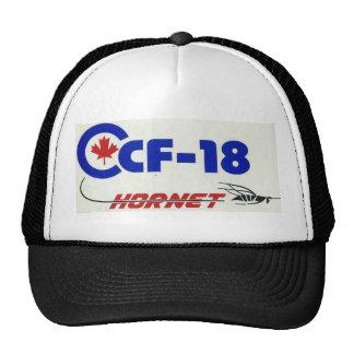 CF-18 HORNET CAP MESH CAP TRUCKER HAT