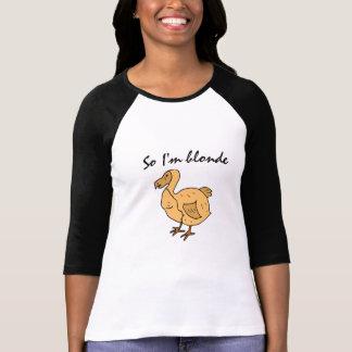 CF- Funny Blonde Dodod Bird Shirt