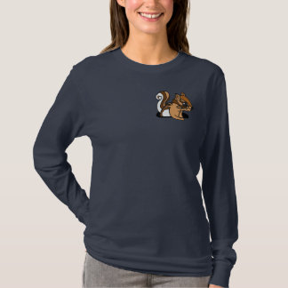 CF- Funny Chipmunk Cartoon Shirt