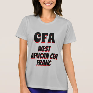 CFA West African CFA franc grey T-Shirt