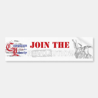 CFL (Join the R3VOLution) Car Bumper Sticker