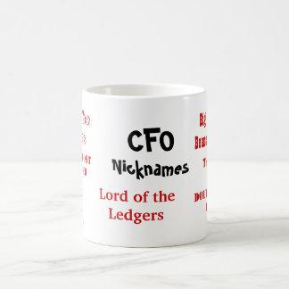 CFO Nicknames! Multi-sided Coffee Mug