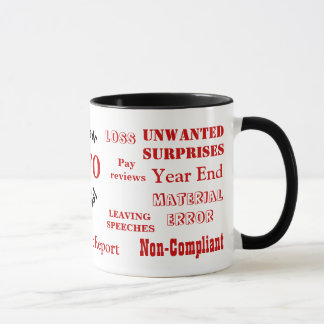 CFO Swear Words! - Rude CFO Mug