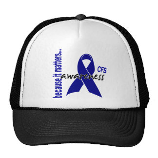 CFS Chronic Fatigue Syndrome Awareness Hat