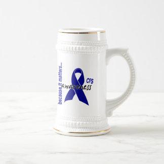 CFS Chronic Fatigue Syndrome Awareness Coffee Mug