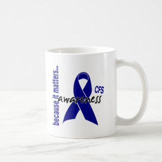 CFS Chronic Fatigue Syndrome Awareness Mug