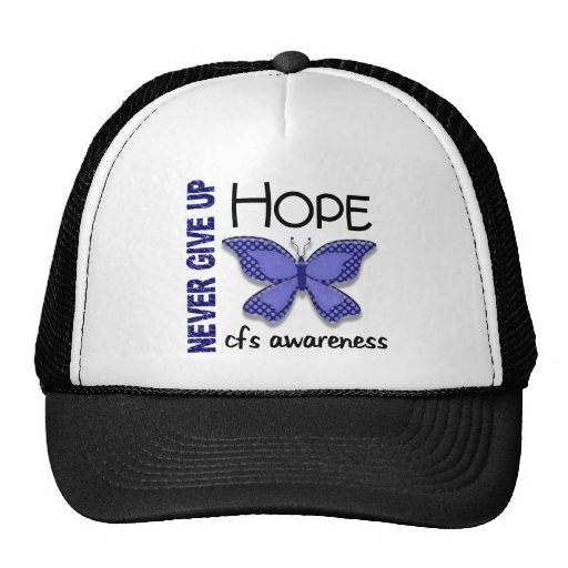 CFS Chronic Fatigue Syndrome Butterfly Mesh Hats