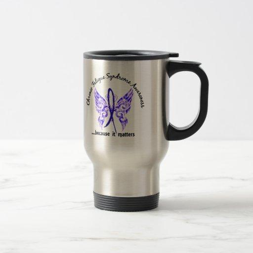 CFS Chronic Fatigue Syndrome Butterfly Coffee Mug