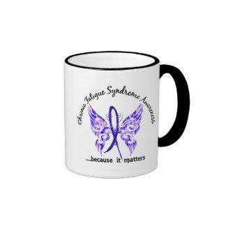 CFS Chronic Fatigue Syndrome Butterfly Mug