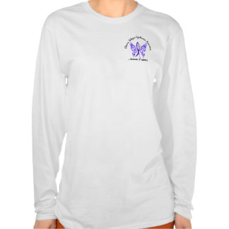 CFS Chronic Fatigue Syndrome Butterfly Shirts