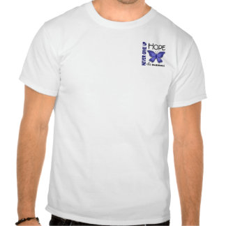 CFS Chronic Fatigue Syndrome Butterfly Tshirts