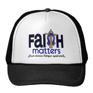 CFS Chronic Fatigue Syndrome Faith Matters Trucker Hat