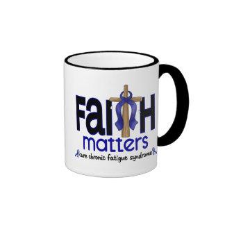 CFS Chronic Fatigue Syndrome Faith Matters Mugs