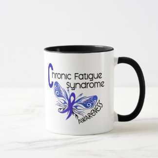 CFS Chronic Fatigue Syndrome Tattoo Butterfly