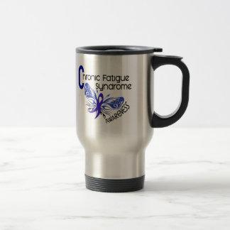 CFS Chronic Fatigue Syndrome Tattoo Butterfly Coffee Mug