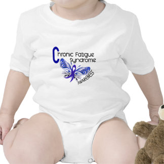 CFS Chronic Fatigue Syndrome Tattoo Butterfly Tee Shirt