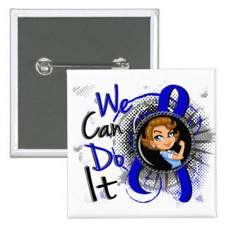 CFS Rosie Cartoon WCDI Button