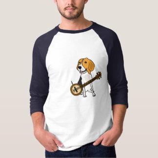 CG- Beagle Puppy Dog Playing the Banjo Shirt