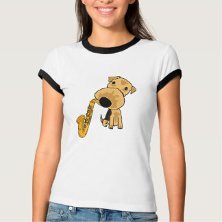 CG- Terrier Playing the Saxophone Shirt