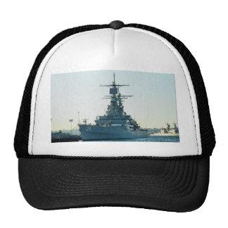 """CGN 39 """"USS Texas"""", nuclear powered cruiser, San D Hat"""