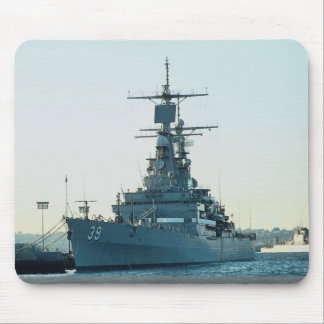"CGN 39 ""USS Texas"", nuclear powered cruiser, San D Mouse Pads"